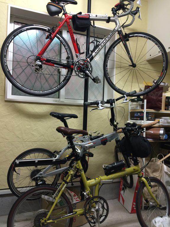 自転車ガレージ