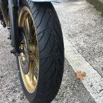 Z1100R:タイヤ交換