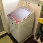 洗濯機購入:シャープ ES-GX8A 型落ち品ですが十分!!