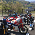 Z1100R:栃木の蕎麦屋 山の神まで