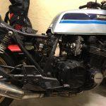 Z1100R:エアクリーナー清掃とプラグ交換