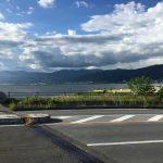 夏休みは:諏訪湖〜糸魚川〜黒部