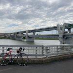 天気が微妙なので近場を自転車で