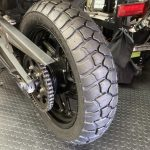 タイガー800:タイヤ交換
