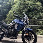 タイガー800:秋山郷ツーリング