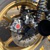Z1100R:リアブレーキのカスタム