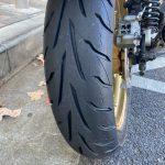 Z1100R:シーズン前の整備(タイヤ交換、プラグ交換)