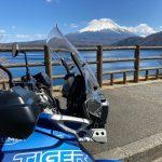 タイガー800:春先の富士山