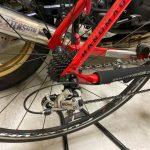 自転車:タイヤ交換(後輪)とステム交換