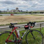 自転車で荒川河口〜川口往復(からのタイガーで草加のサングラス屋)